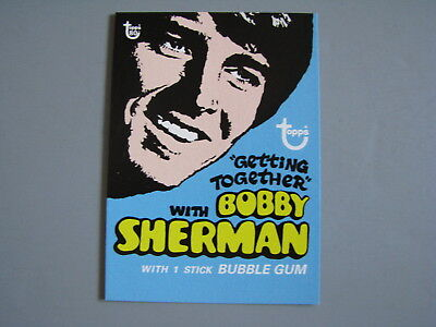 2018 Topps 80Th Anniversary Wrapper Art Card 1971 Getting Together Bobby Sherman