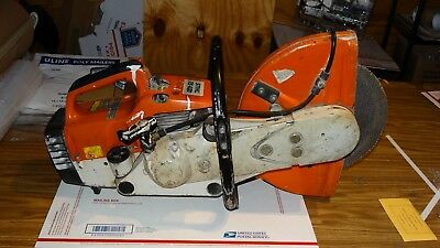 "Stihl TS 400 CutQuik 14"" Cut-Off Concrete/ Chop Saw"