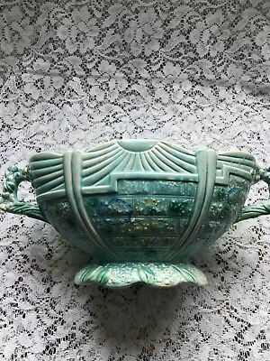 Arthur Wood Garden Wall Blue Trophy Vase. Vintage.