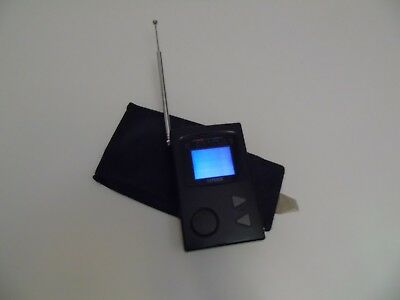 Casio Portable Miniature Battery Analogue Colour TV from the 1980's.