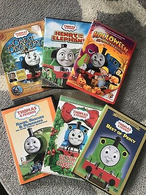 Children's Thomas The Train DVD set of 6 kids movies - The Great Discovery