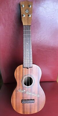 Vintage Hawaiian Duke Kahanamoku  Ukulele Hawaii