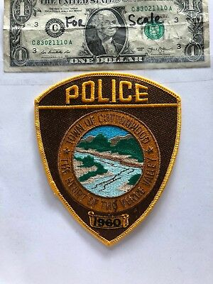 Town of Cottonwood Arizona Police Patch un-sewn mint condition State of Arizona