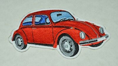 patch , vw , coccinelle rouge 13/7.5cm, broder et thermocollant