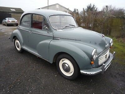 1959 Morris 1000 41K Miles New Brakes Tyres A1 Solid Daily Driver Ready To Use,