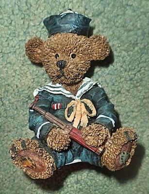 Sailor Bear with Telescope Figurine from Three Hands Corp.