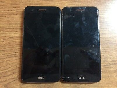 Lot Of 2 LG K20 Plus LGMP260 32GB Google locked FOR PARTS AS-IS