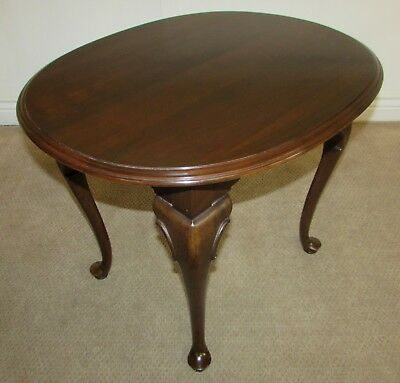 Ethan Allen Georgian Court Cherry Queen Anne Oval End Table 11-8306 Finish 225