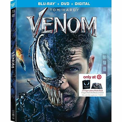 Venom - From Target Exclusive Blu-Ray Combo- Digital Code ONLY