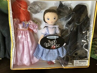 "Madame Alexander 11"" Dorothy Cloth Doll With Two Extra Outfits Wicked Witch And"