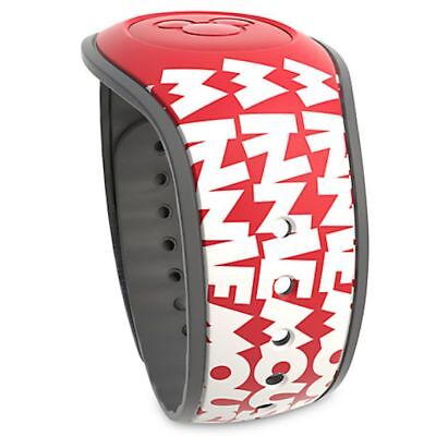 Disney Parks Magic Band Mickey Mouse Timeless Logo Red White MagicBand2 New