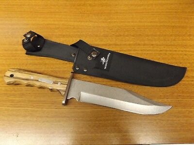 "Winchester 14"" Fixed Blade Bowie Knife With Sheath"