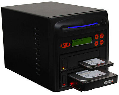 "SySTOR 1:1 SATA 3.5"" 2.5"" Hard Disk Drive HDD/SSD Duplicator Cloner Wipe-90MB/s"
