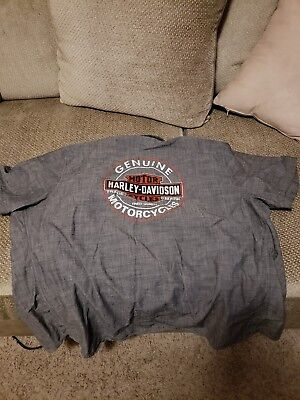 Harley Davidson Men's 2XL Short Sleeve Shirt