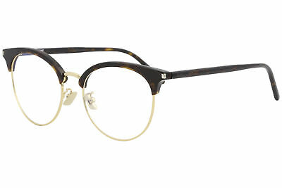 Saint Laurent Eyeglasses SL233/F SL/233/F 003 Havana/Gold Optical Frame 52mm