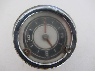 Vauxhall -  Classic Smiths Car Clock With Pod
