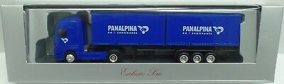 HERPA Nr.229777 MB Actros LH 2x20ft.-Container-SZ 'PANALPINA' (Aufl.1600) - OVP