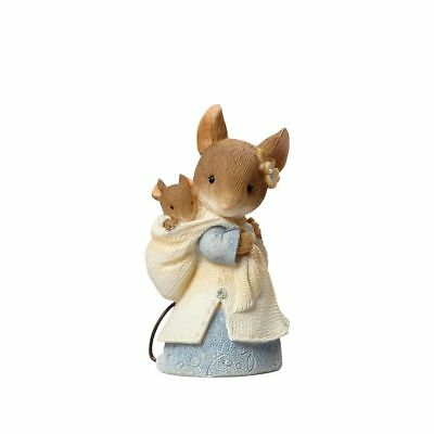 Tails with Heart by Karen Hahn / Enesco /Mouse w/Baby #4055900 MIB