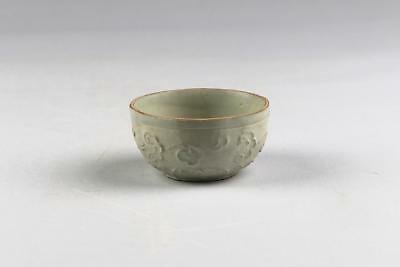 Rare Antique Chinese Southern Song Qingbai Greenware Celadon Small Bowl Or Cup