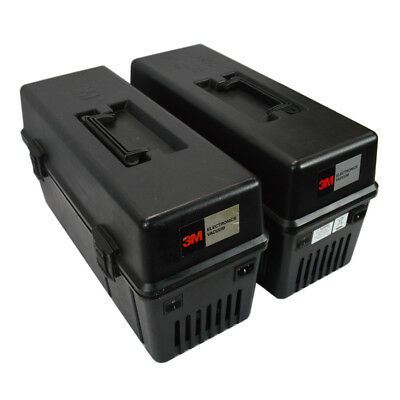 (Lot of 2) 3M Model 497 115V 6.0A 60 Hz Service Vacuum w/ Toner and Dust Filter