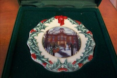 Longaberger Collector Club Christmas Ornament 1996