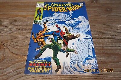 Amazing Spider-Man #74 (1969 Marvel Comics) Silver Age NO RESERVEComplete