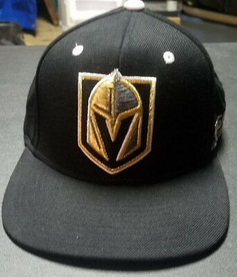 the latest 81a74 473b2 LAS VEGAS GOLDEN KNIGHTS Hockey Adidas Snapback HAT Black