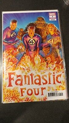 Fantastic Four #1 1 in 50 Alex Ross Variant