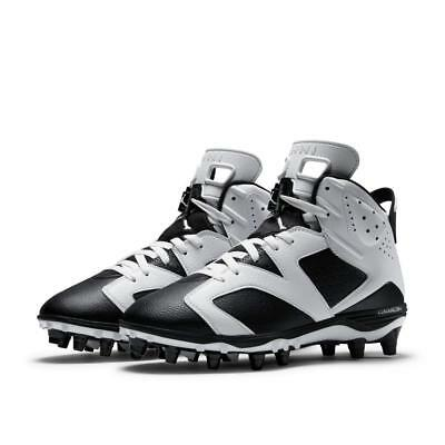e4a4eebc2ee2 New Nike Air Jordan 6 Retro Td Football Cleats Oreo Black white 645419-110