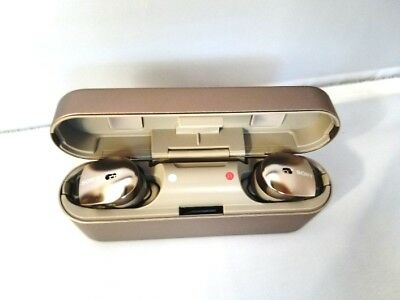 Sony WF-1000X Bluetooth Wireless Noise-Canceling Earphones with Mic /NFC- Gold