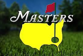 2019 Masters Badges Tickets For Tournament All 4 Days!
