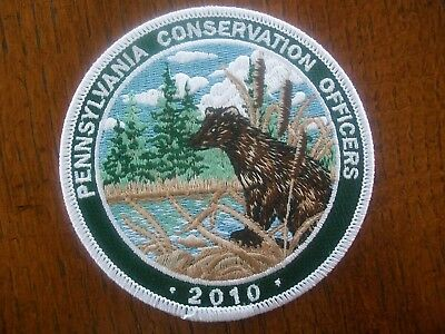 Pa Penna. Game Commission 2010  Patch River Otter  Cons. Officers Series