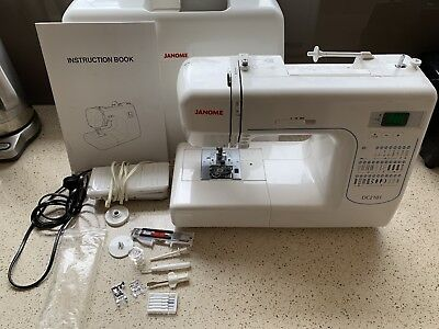 Janome DC101 Sewing Machine + accessories + manual AS NEW