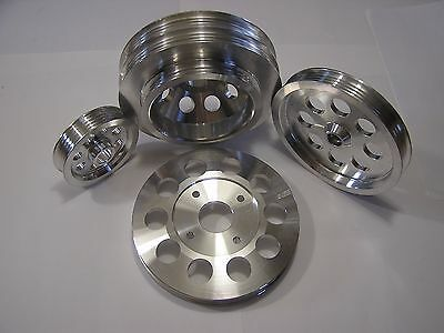UD Underdrive Crank Pulley Set fits Infiniti Nissan Skyline RB25 GTR R32 R33 R34