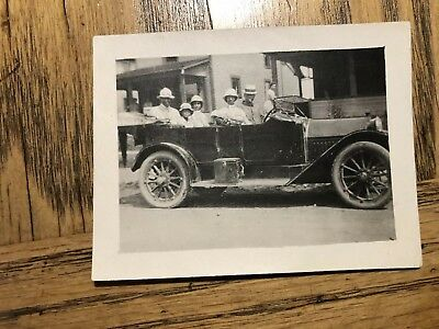 African American Dr And Others In Car Photo 1916 Richmond Indiana