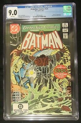 Detective Comics #525 CGC 9.0...1st Killer Croc story and cover (Suicide Squad)