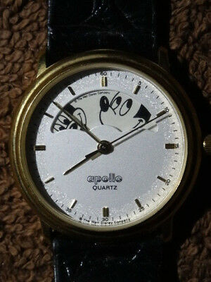 Mickey Mouse 'the Faces Of Mickey' Wrist Watch By Apollo