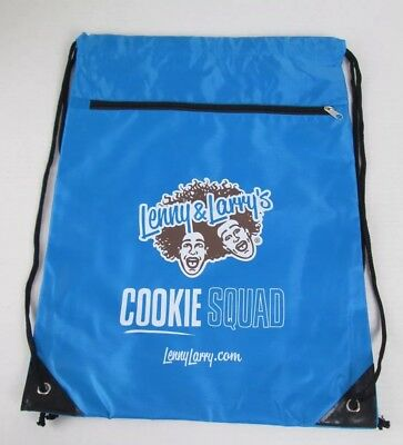 Lenny & Larry's String Backpack ~ Swag ~ Blue Double Compartment