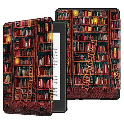 For All-New Amazon Kindle Paperwhite 10th Generation 2018 PU Leather Case Cover