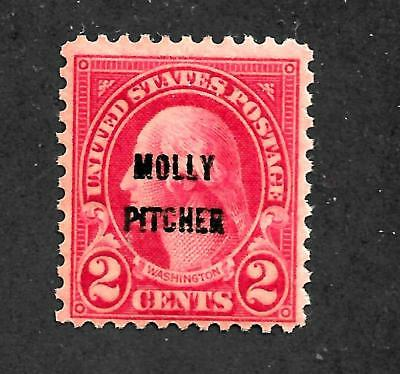HickGirl Stamps! BEAUTIFUL OLD MH. STAMP SC#646 MOLLY PITCHER D177