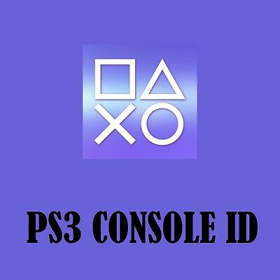 PS3 CID  PSID CONSOLE ID   Private and Guarantee