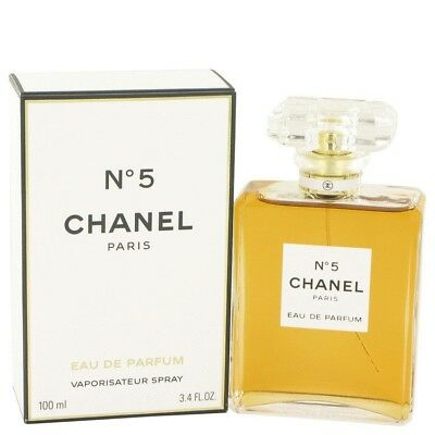 CHANEL No. 5 by Chanel Eau De Parfum Spray 100ml Women - Brand New - RRP $260