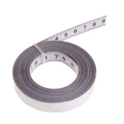 2/3/5M Miter Tape Measure Self-Adhesive Metric Metal Ruler Miter Track Stop Tape