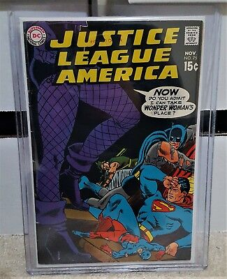 Justice League of America #75 (1969) FN- 5.5 - 1st App of Black Canary JLA KEY