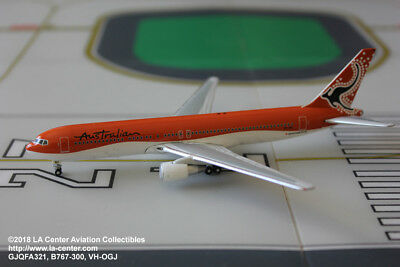 Gemini Jets Australian Airlines Boeing 767-300 Old Color Diecast Model 1:400