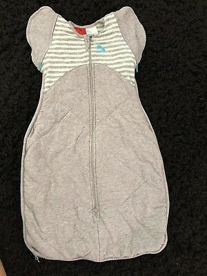 Love To Dream Swaddle Up 50/50 Winter Warm Sleep Bag 2.5 Tog Size M (00)
