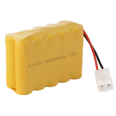 12V 800mAh Ni-Cd AA Rechargeable Battery w/ KET-2P Plug for Electric Toys BC801