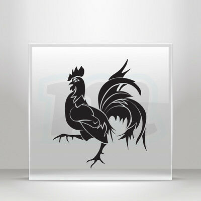 Decals Stickers Rooster Cockerel Gallus Figure farm sto A19 3XXKR