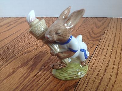 ROYAL DOULTON OLYMPIC BUNNYKINS Figurine ~ Made in England ~ 1983 Nice Condition