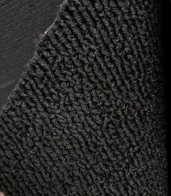 Automotive loop Carpet dorsett 301 Black By the yard 40 inches wide
